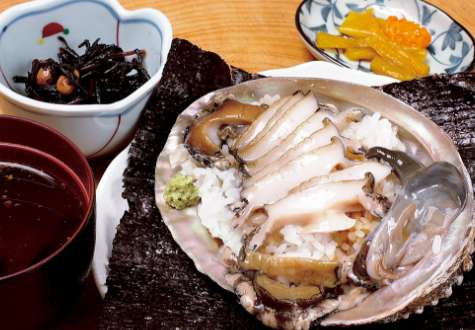 Abalone on rice